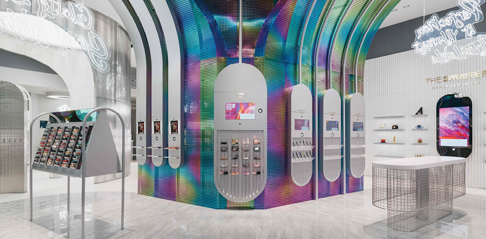 Storeage designs new retail store for B+Tube cosmetics in Changsha, China