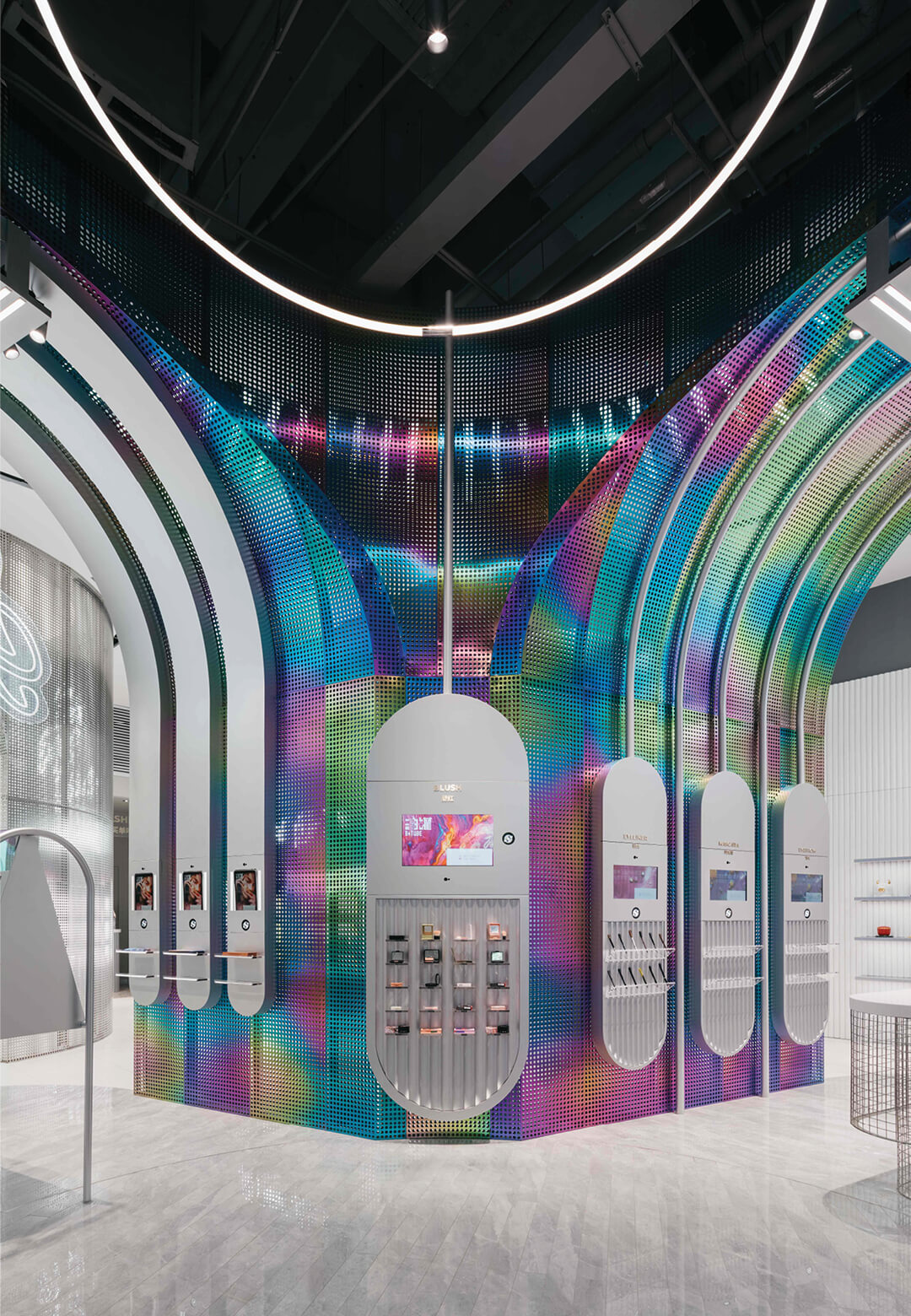 B+Tube's new flagship store in China designed by Storeage | B+Tube cosmetics retail store by Storeage | STIRworld