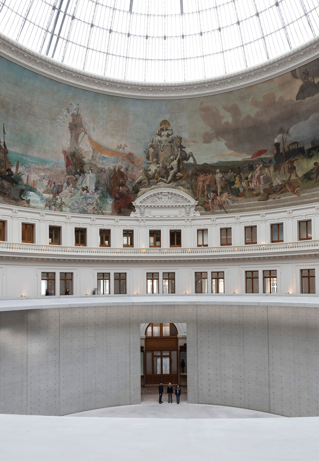 A panorama of the Bourse de Commerce restored by Tadao Ando | Bourse De Commerce – Pinault Collection | Tadao Ando Architect & Associates, Niney and Marca Architects, and Agence Pierre-Antoine Gatier | STIRworld