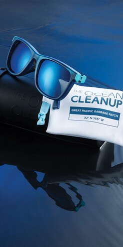 The Ocean Cleanup and Yves Béhar make sunglasses with ocean plastic pollution