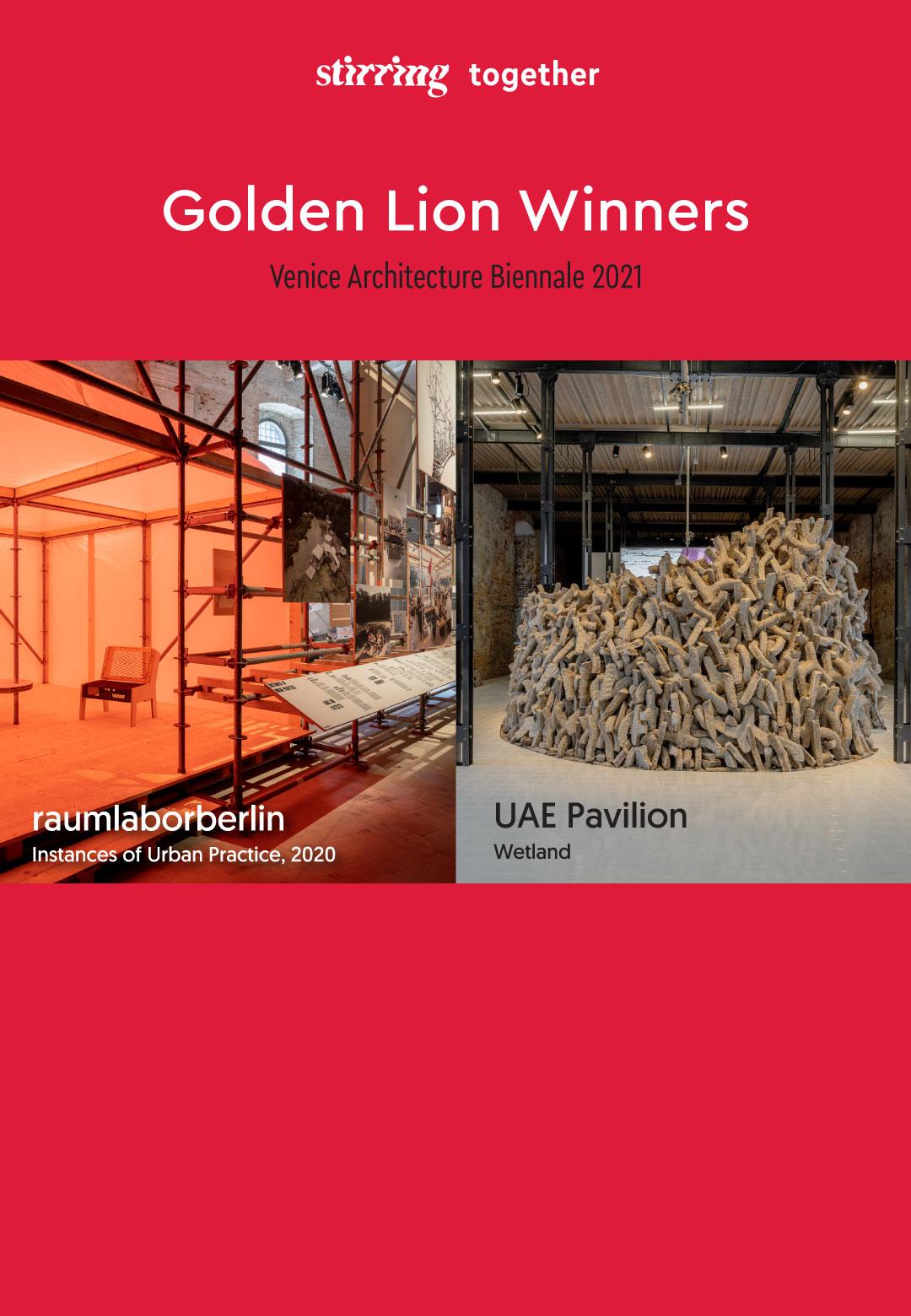 Venice Architecture Biennale 2021 announces recipient of the Golden Lion   Venice Architecture Biennale 2021   Golden Lion   STIRworld