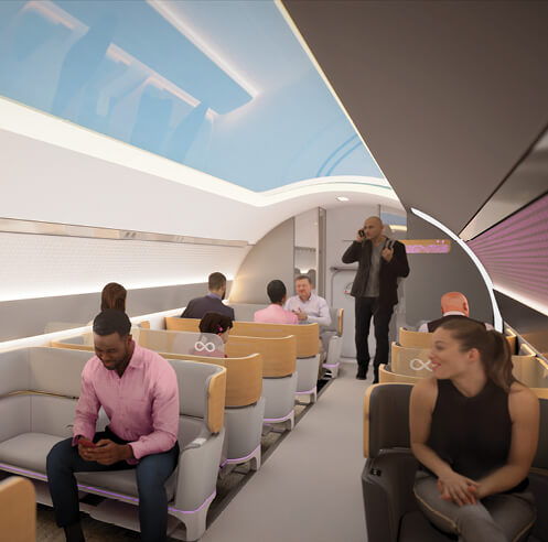 Virgin Hyperloop unveils their passenger experience vision, set to stir travel