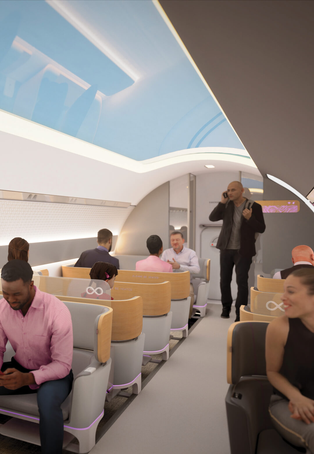 Virgin Hyperloop unveils Passenger Experience Vision | Virgin Hyperloop Designed by Bjarke Ingels Group and Teague | STIRworld