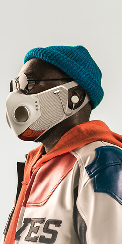 will.i.am launches audio-engineered XUPERMASK in partnership with Honeywell