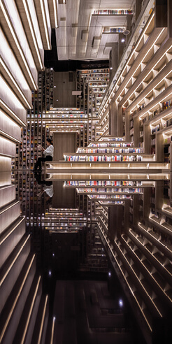 X+Living's Taiyuan FAB Cinema evokes dreamscapes from <i>Inception</i>