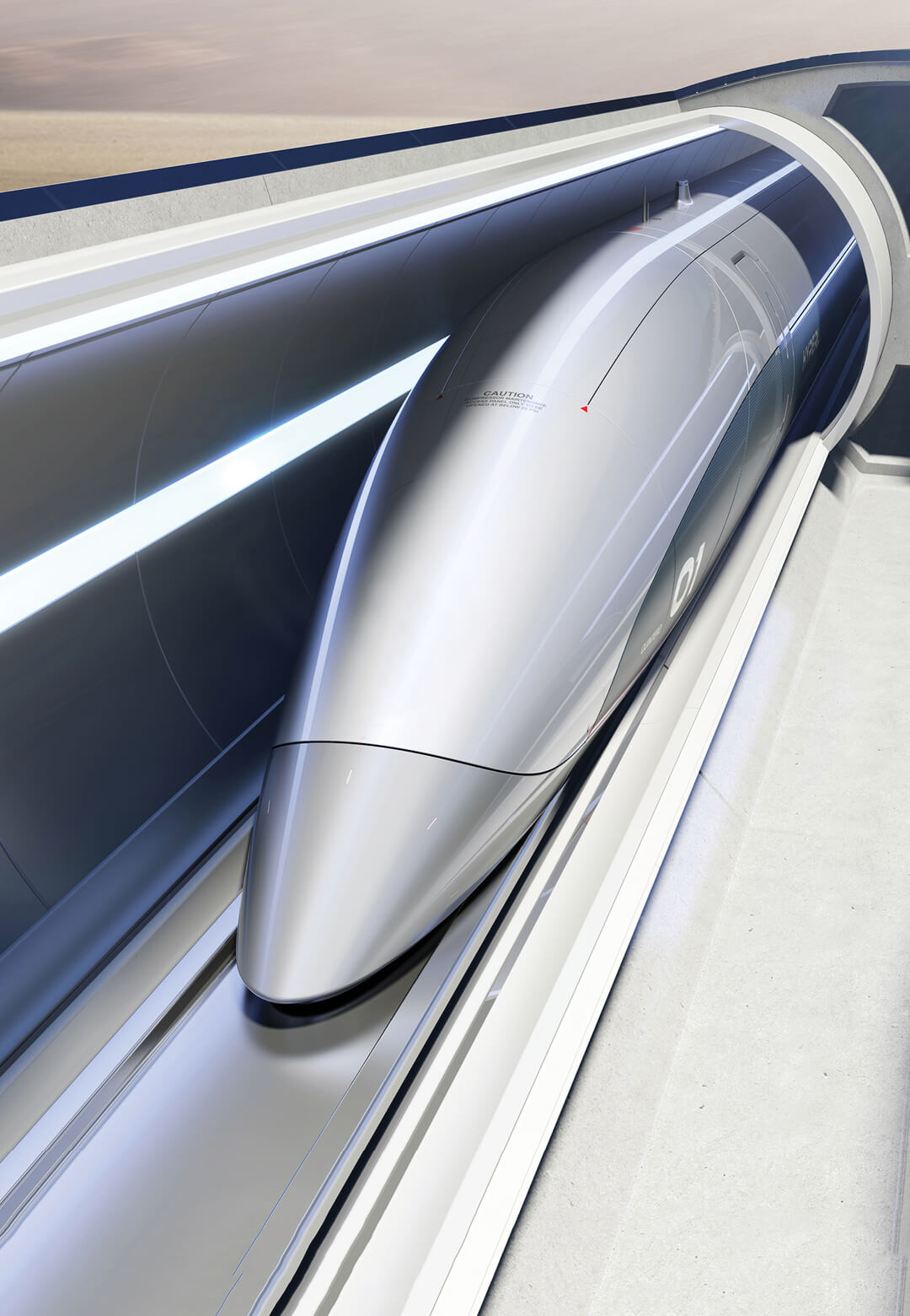 Zaha Hadid Architects has partnered with Hyperloop Italia to jointly design its next phase of works | ZHA x Hyperloop Italia | STIRworld