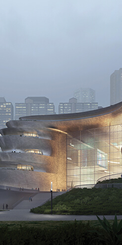 Zaha Hadid Architects' Shenzhen Science and Technology Museum shuns linearity