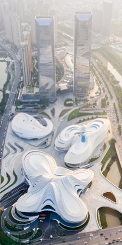 Zaha Hadid Architects' new arts museum, MICA, opens in China