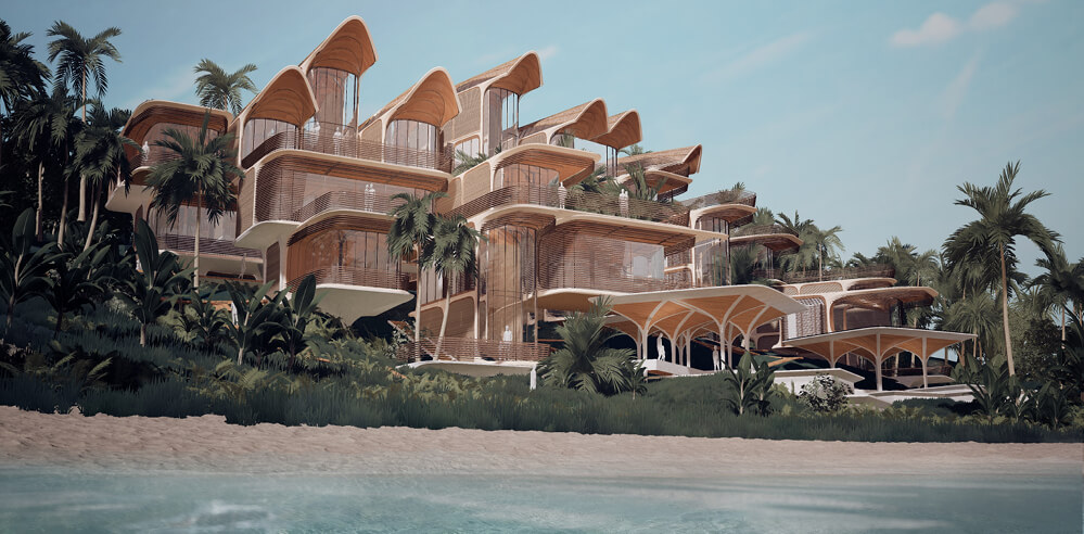 Zaha Hadid Architects reveal scheme for modular residential complex in Honduras