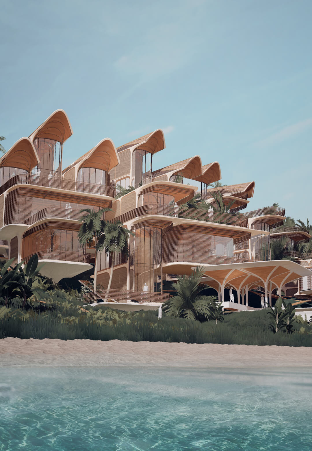 Proposed design for 'Roatán Próspera Residences' in Honduras by Zaha Hadid Architects | Roatán Próspera Residences by Zaha Hadid Architects | STIRworld