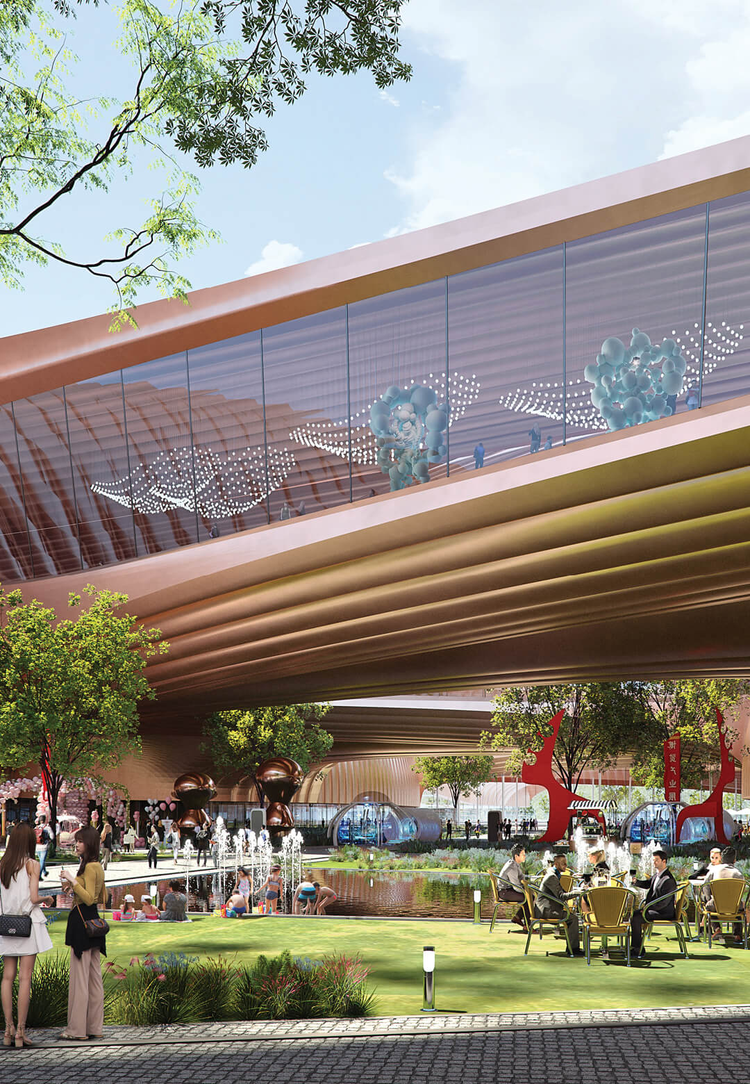 Winning design for Phase II- International Exhibition Centre in Beijing by ZHA | International Exhibition Centre (Phase-II) by Zaha Hadid Architects | STIRworld