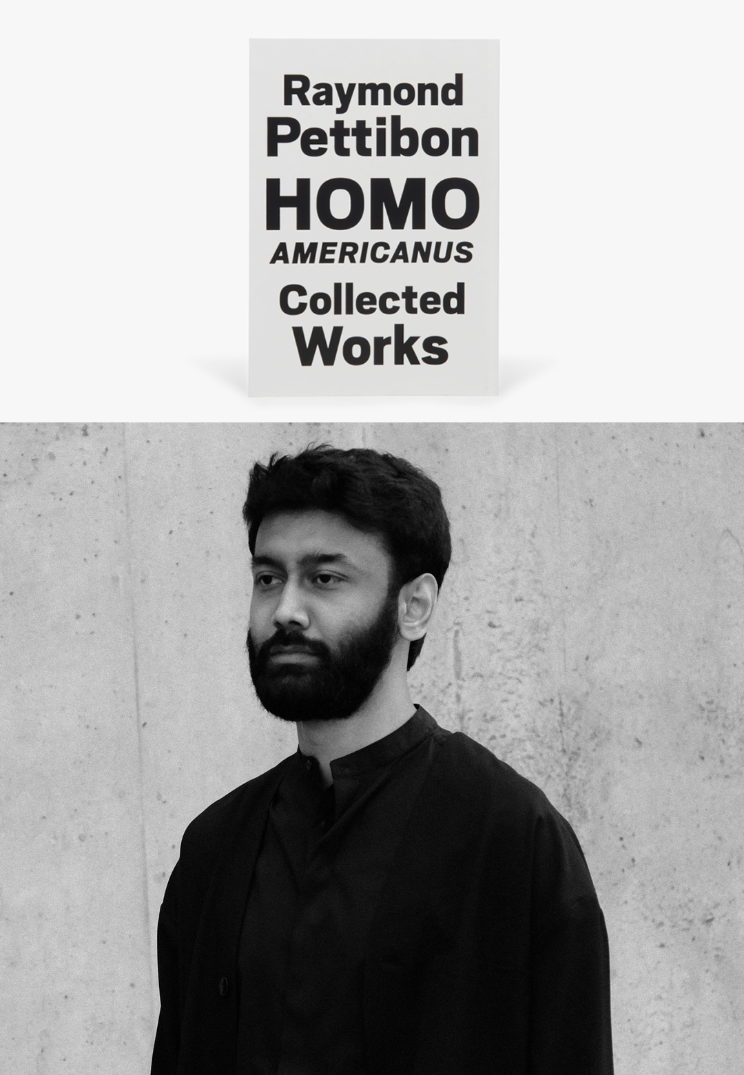 Indian graphic and typeface designer Shiva Nallaperumal is reading 'Homo Americanus: Collected Works' by American artist Raymond Pettibon | What Am I Reading: Shiva Nallaperumal | STIRworld