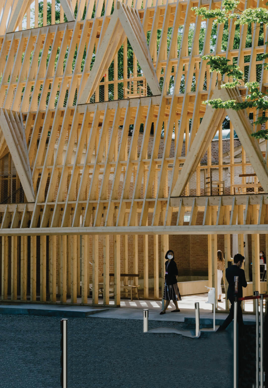 American Framing, U.S. Pavilion, Giardini | Venice Architecture Biennale 2021 | Vladimir Belogolovsky | STIRworld