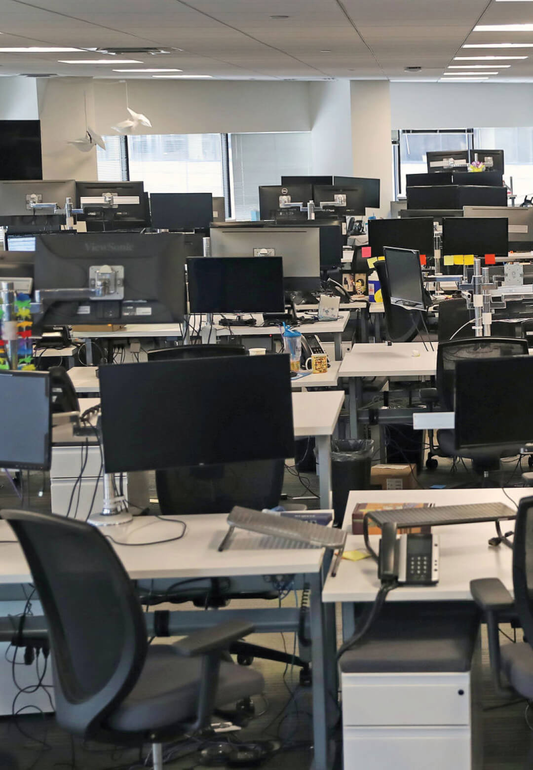 The pandemic has forced workplaces and businesses to shift online, leaving physical spaces empty | Digital Legacies: Escape | STIRworld