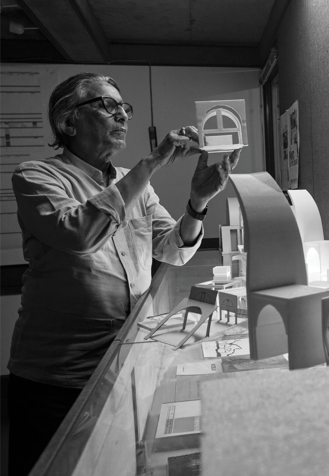 Pritzker Prize laureate and Indian architect Balkrishna Doshi | BV Doshi | Vastu Shilpa Foundation | STIRworld