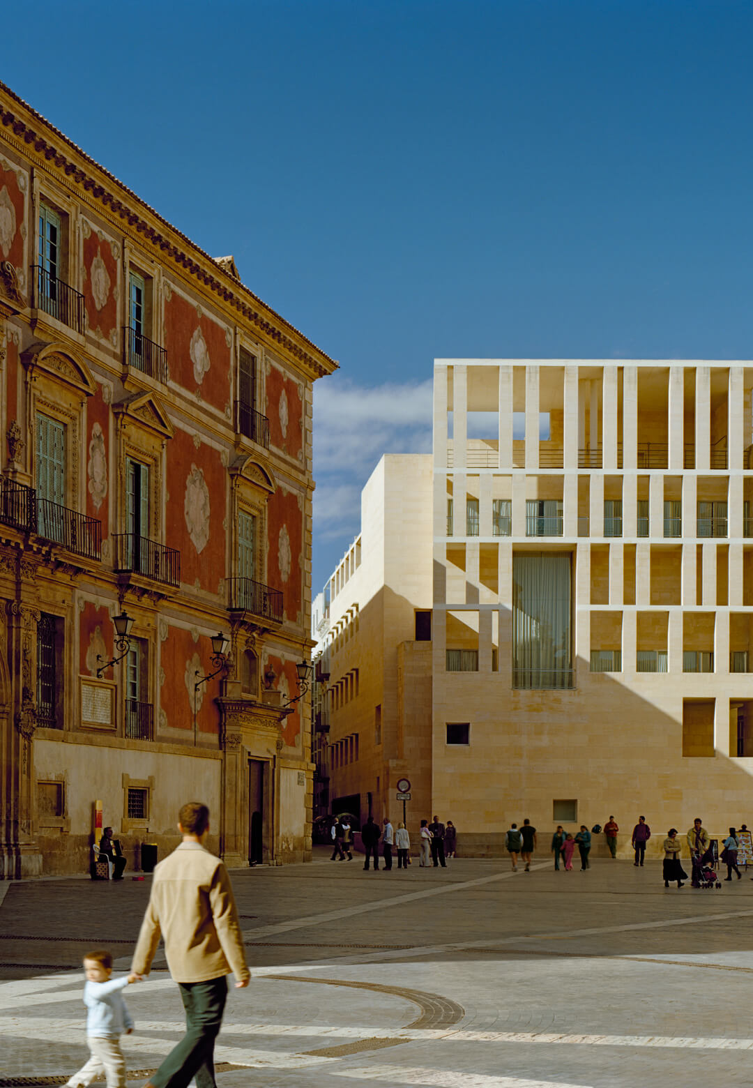 Murcia City Hall, Murcia, Spain, 1991-98 by Rafael Moneo | Vladimir Belogolovsky | STIRworld