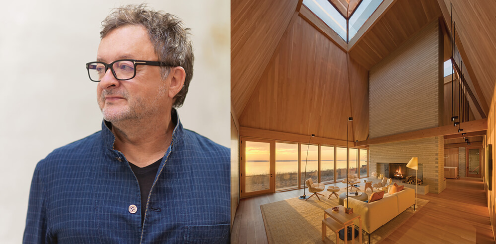 Rick Joy calls his design process a way of learning about nature and architecture