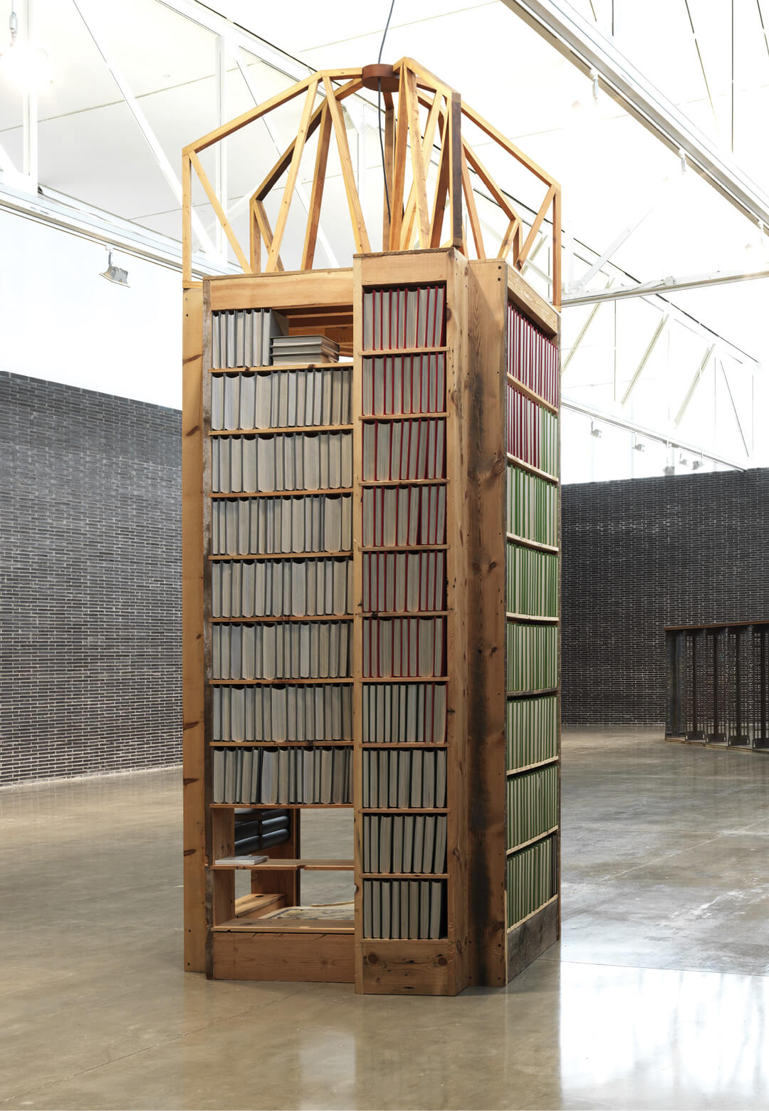 """While I hadn't thought about 'Walking Prayer' in its current iteration as an enshrinement, it is absolutely an embodiment, a materialization, of things that are often murmured...,"" says Theaster Gates 