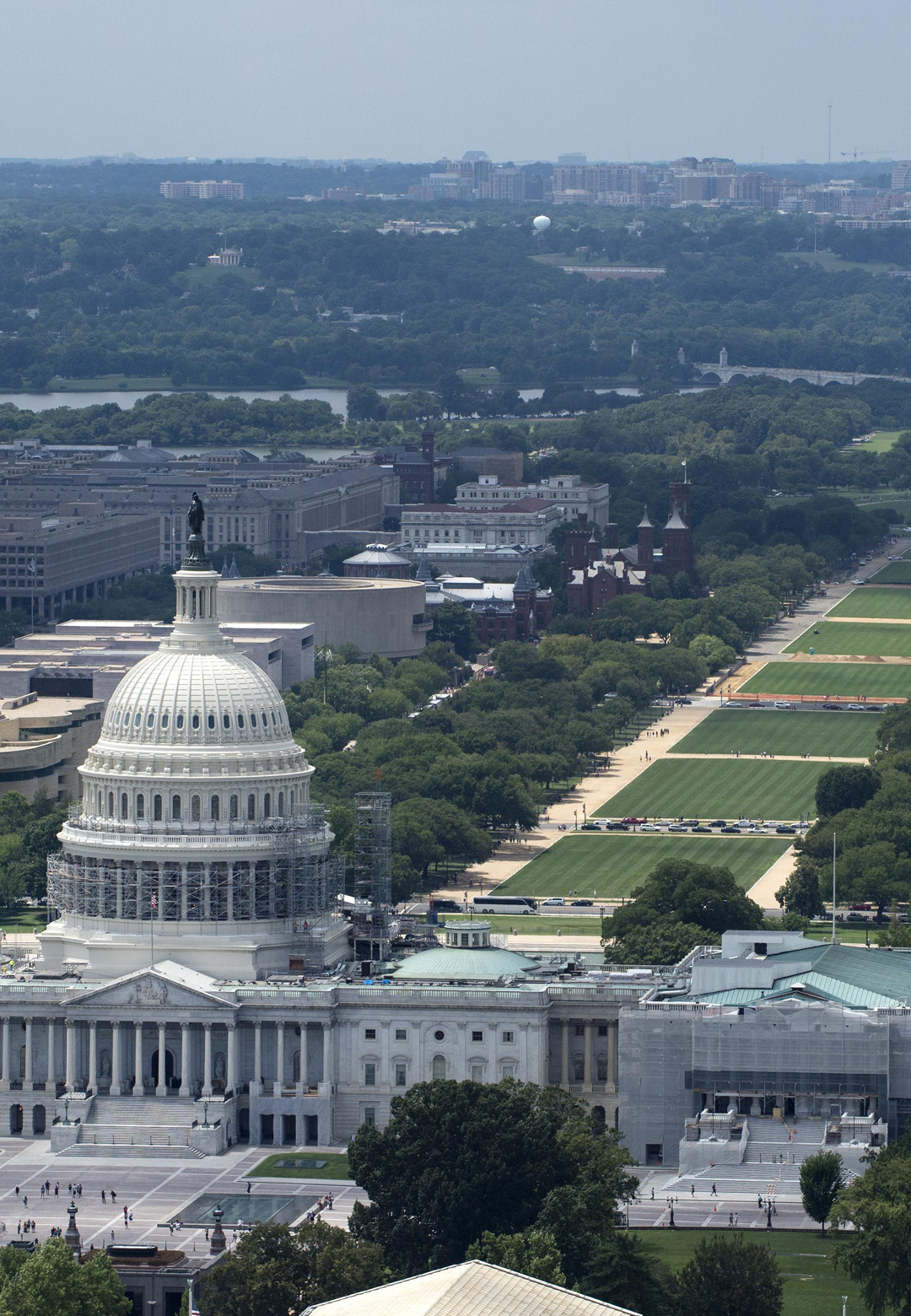 National Mall, Washington DC | Comparison of Central Vista | New Delhi, Washington DC | STIRworld