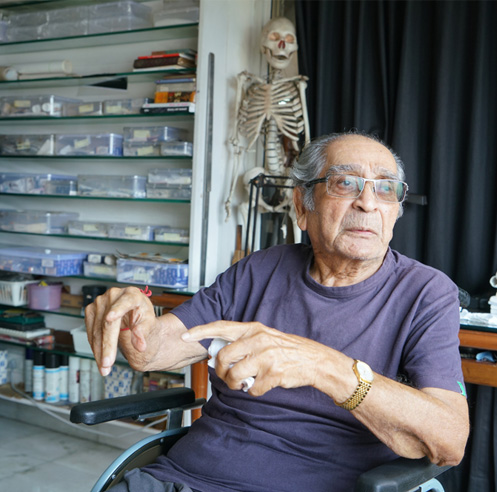 Akbar Padamsee - a painter, philosopher and a pioneer of modern Indian art