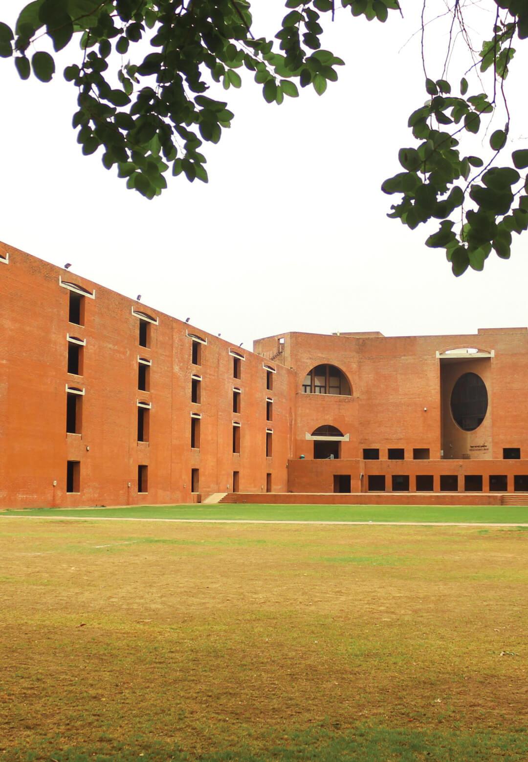 The Louis I Kahn plaza at the Indian Institute of Management-Ahmedabad (IIM-A)   IIM Ahmedabad Demolition   Prof Jaimini Mehta   STIRworld