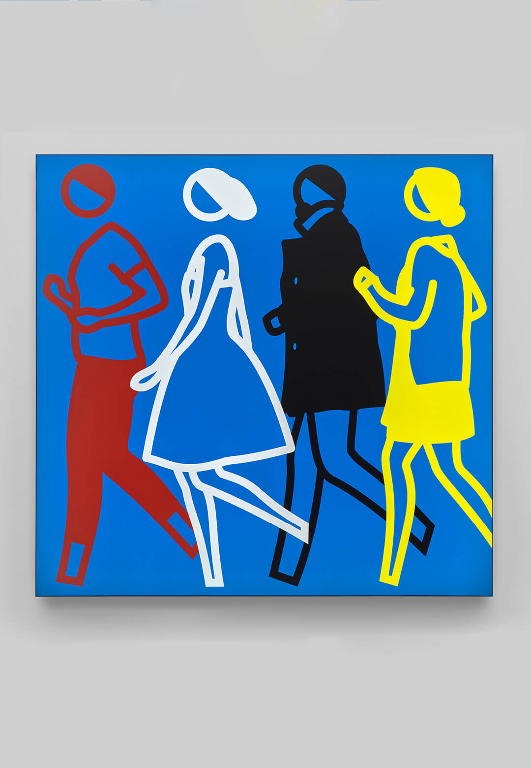 Sam Amelia Jeremy Teresa | Art Basel Online Viewing Room | Julian Opie | STIRworld