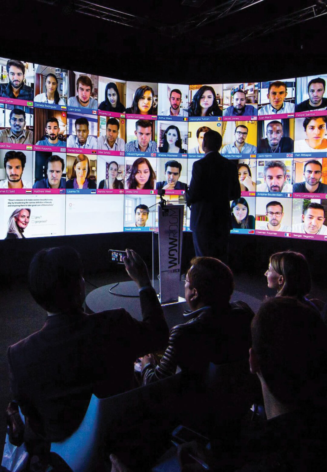 IE Business School's virtual classroom envisions a new model for education | Digital Legacies | Julius Wiedemann | STIRworld