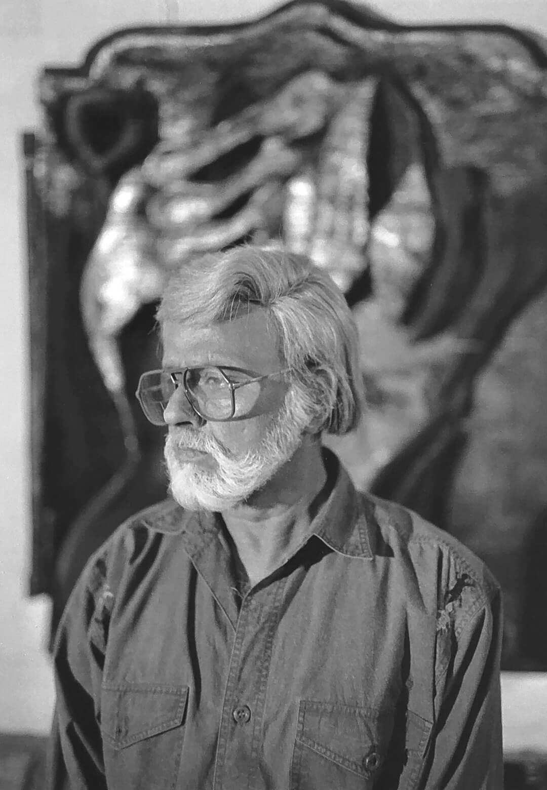 A portrait of Satish Gujral | Satish Gujral | STIRworld