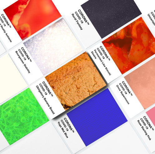 Phantome Palette: a brand new colour chart for the post-coronavirus world