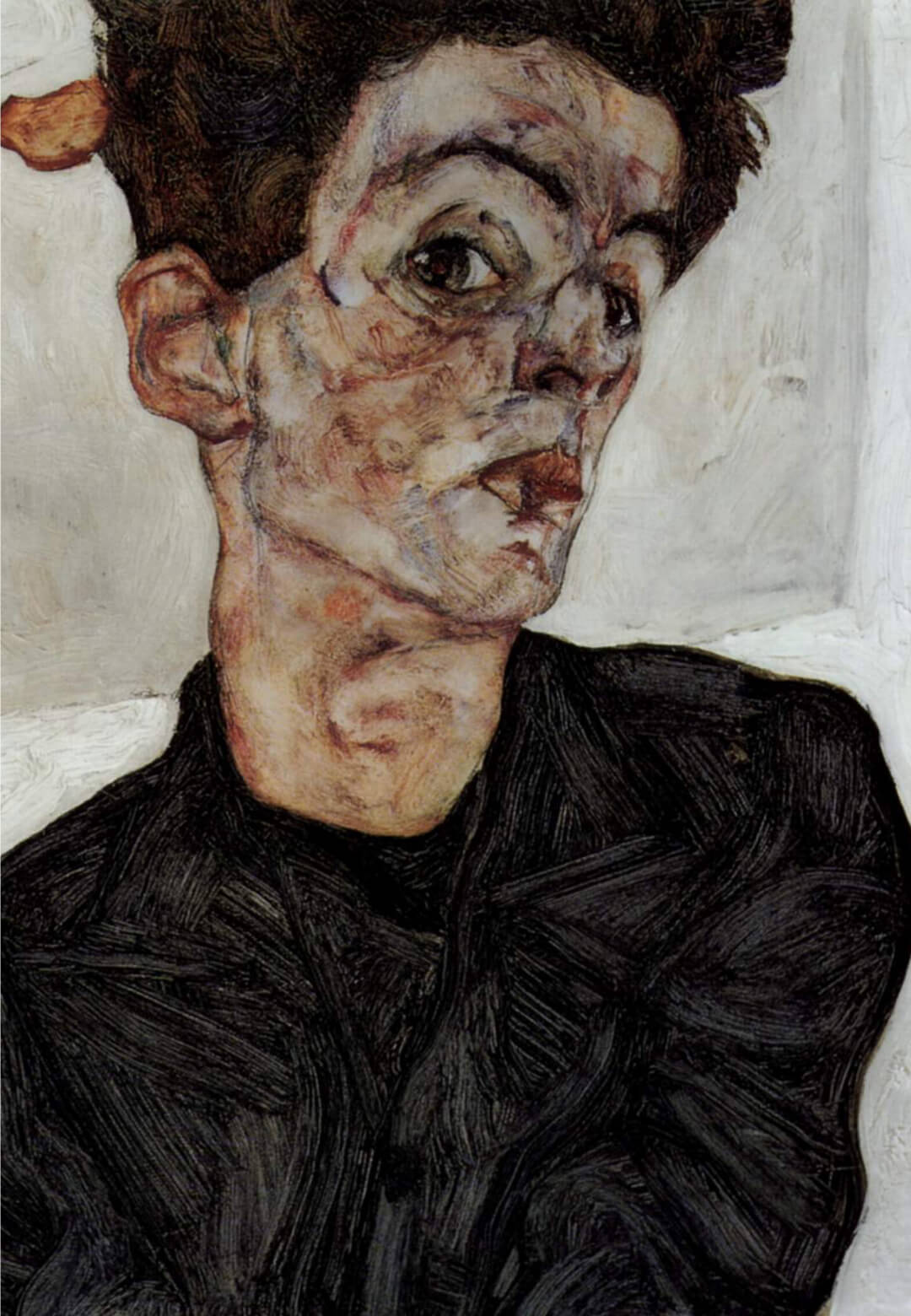 A self-portrait by Egon Schiele | Egon Schiele| STIRworld