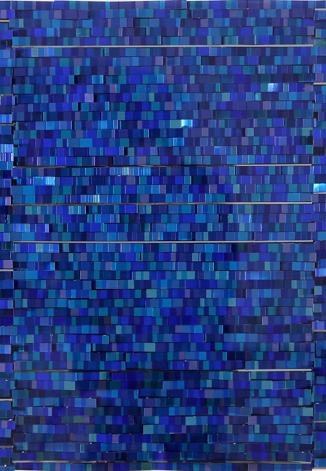 'Blue Reflection Lines' by Katsumi Hayakawa | Sovereign Asian Art Prize | Katsumi Hayakawa | STIRworld