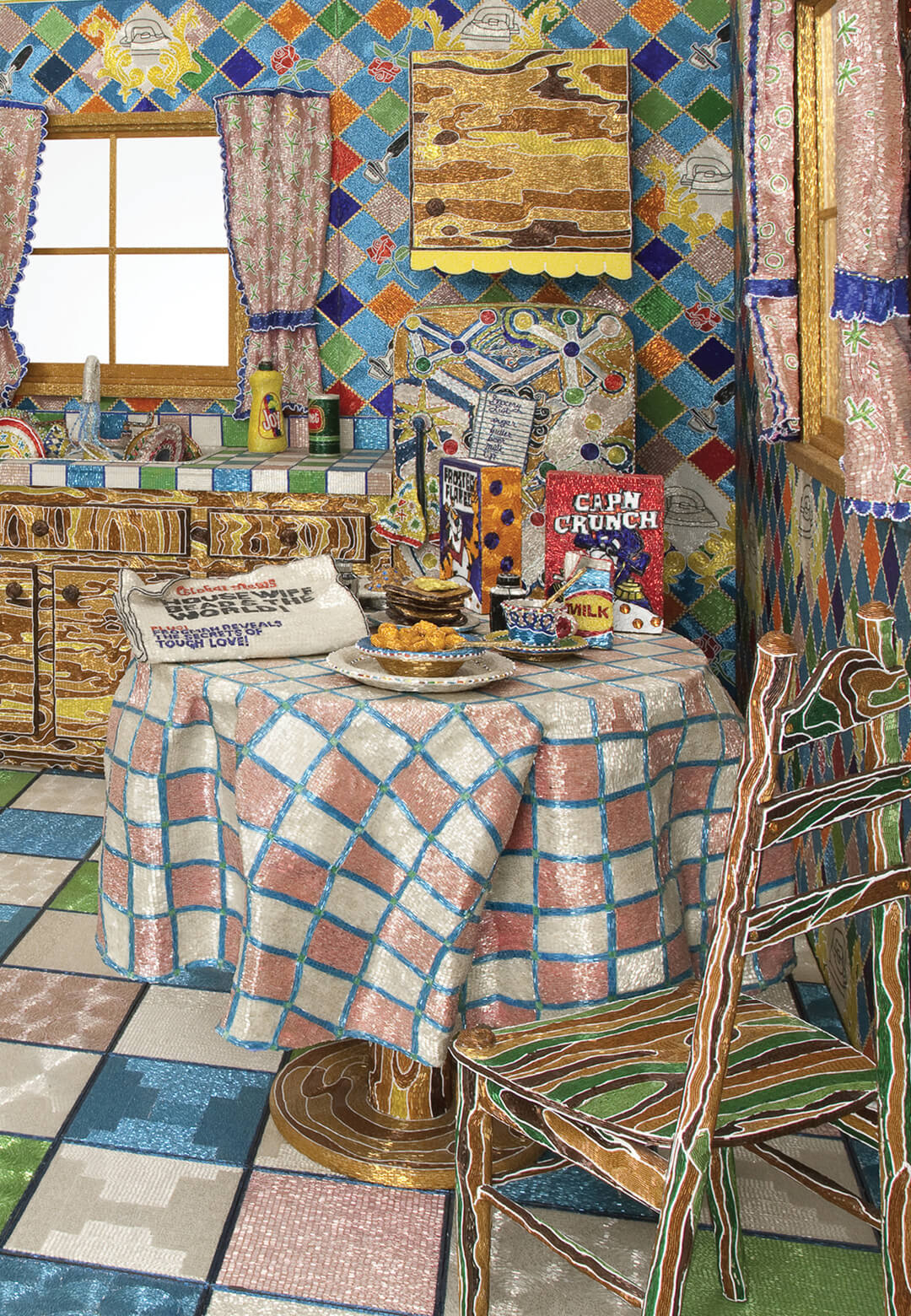 Kitchen is an ode to the historical labours performed by housewives    STIRworld