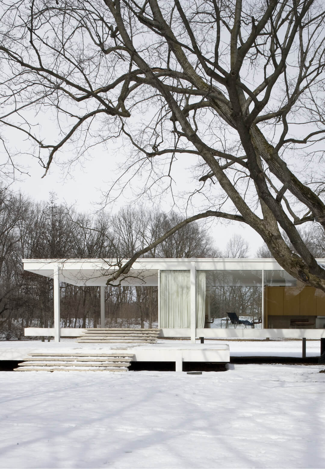 Ludwig Mies van der Rohe, Farnsworth House, Plano, Illinois, 1951| Ludwig Mies van der Rohe | STIRworld