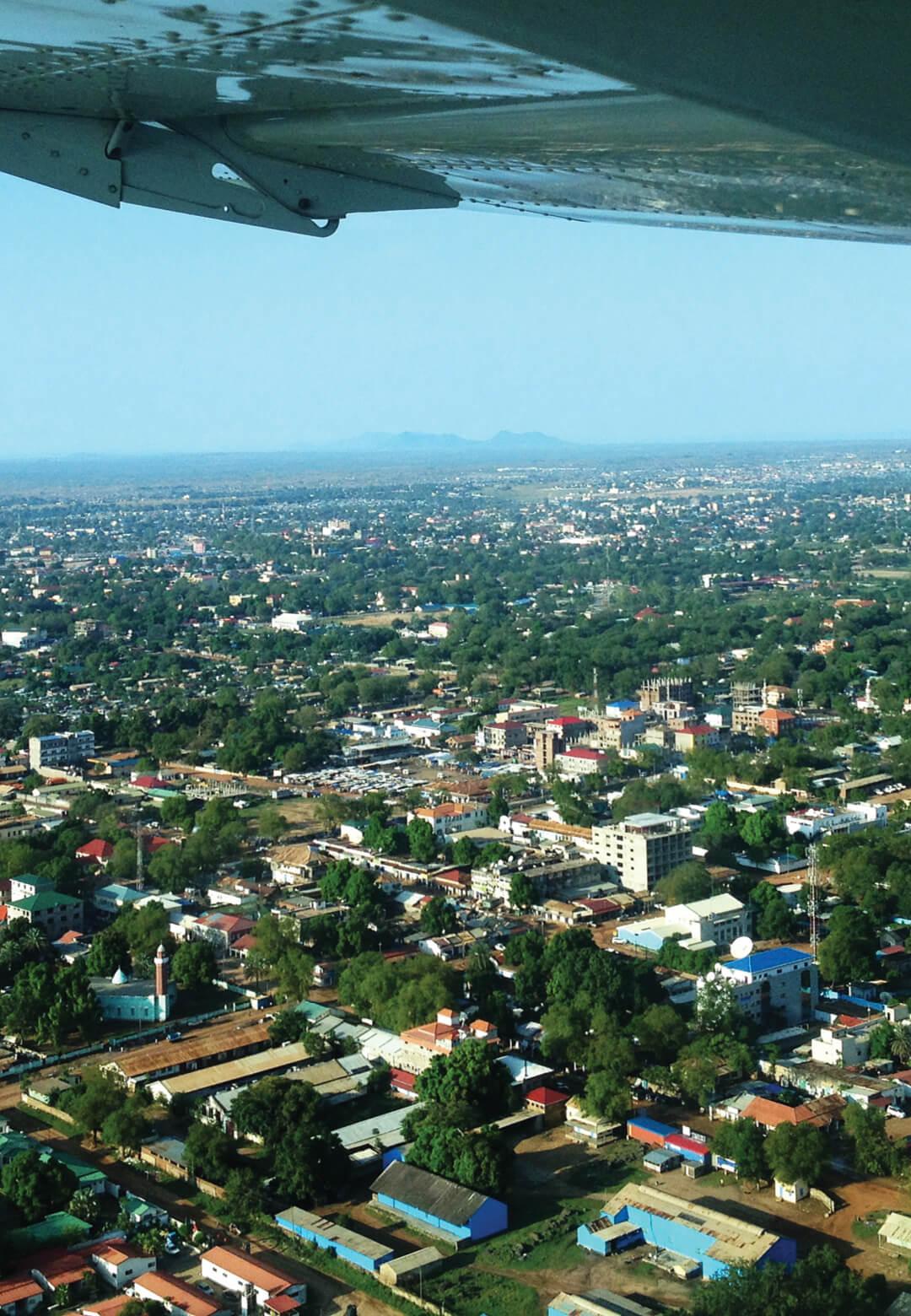 An aerial view of Juba, South Sudan | South Sudan | STIRworld
