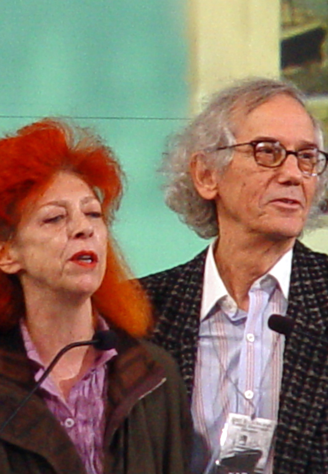 Christo and Jeanne-Claude | Ellis Island Heritage Award, 2005 | Christo and Jeanne-Claude | STIRworld
