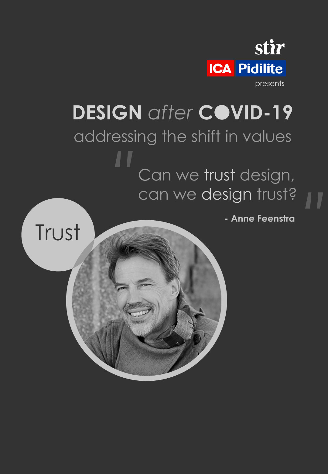 Prof. Anne Feenstra writes on the idea of 'trust' and its existence in the design world over the years and post-pandemic period | Anne Feenstra | Design after COVID-19| STIRworld