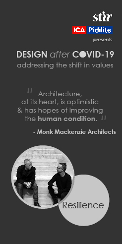 What lies ahead? Monk Mackenzie architects on adoption and adaptation