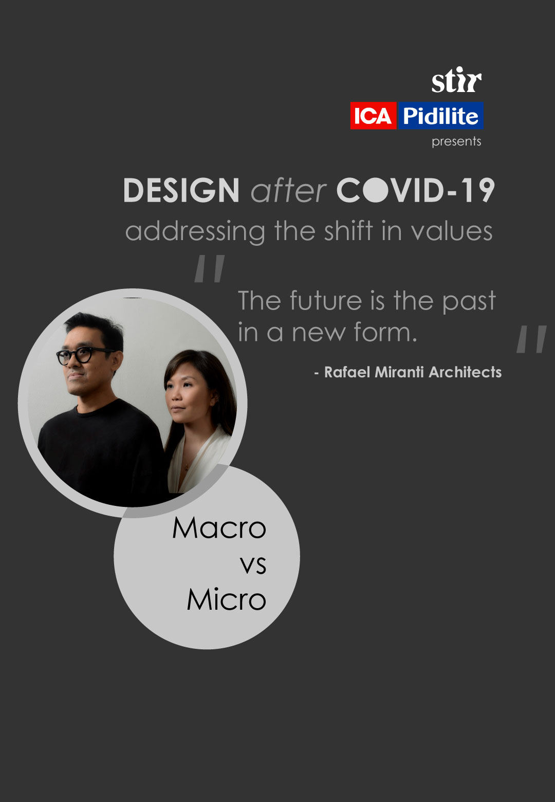 Rafael Arsono and Margareta Miranti of Rafael Miranti architects throw light on the way design and architecture is taking shape in Jakarta during lockdown. | Rafael Miranti architects  | Design After COVID-19 | STIRworld