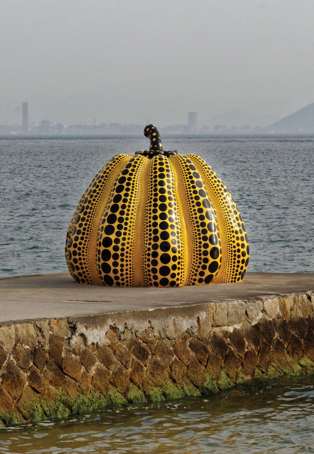 Yayoi Kusama's pumpkin sculpture   Yayoi Kusama   STIRworld