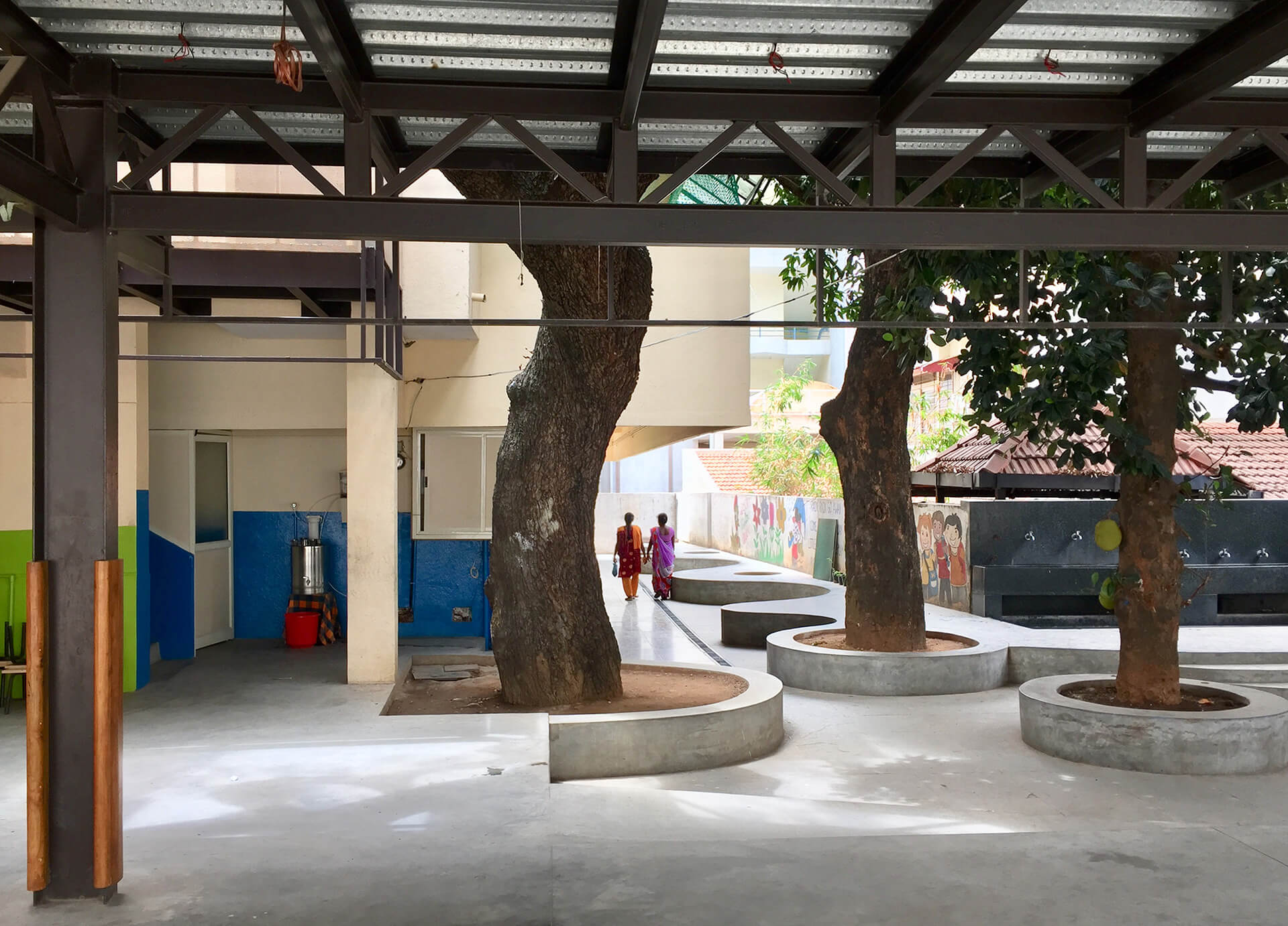 The open space and elevated classroom opened new possibilities of usage for the kids and the teachers alike | Soumitro Ghosh | Mathew Ghosh Architects | STIRworld