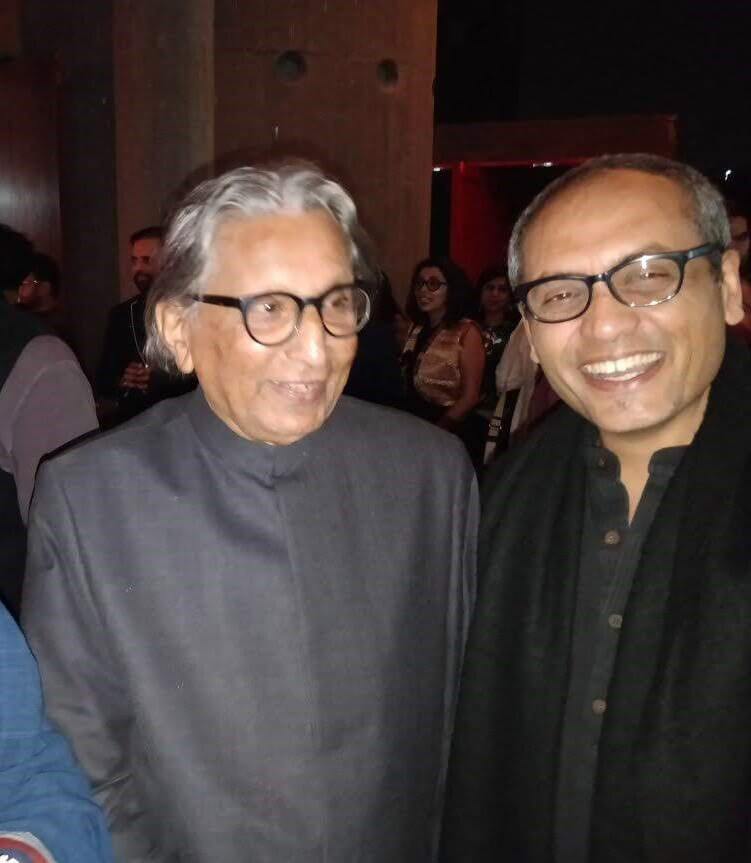 BV Doshi with Soumitro Ghosh | Soumitro Ghosh | Mathew Ghosh Architects | STIRworld