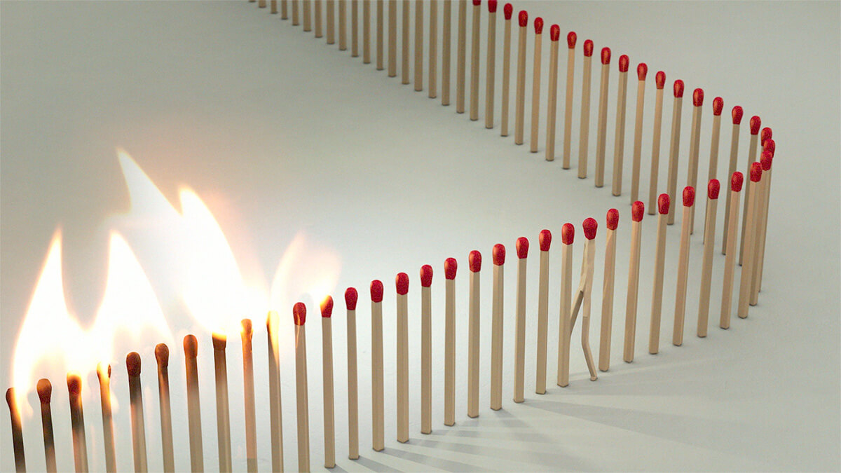 'Safety Match', the trending artwork by Juan Delcan and Valentina Izzaguire | Safety Match| Juan Delcan| STIRworld