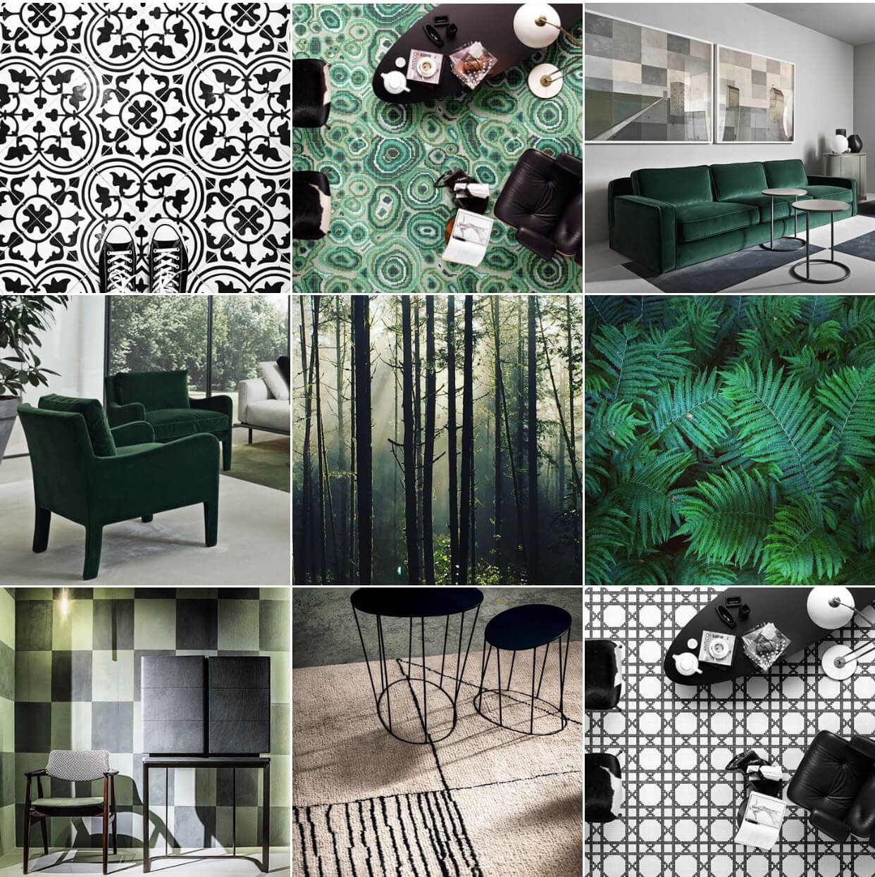 Monochromes and greens for some added freshness | STIR in conversation with Michelle Ogundehin | England | STIRworld