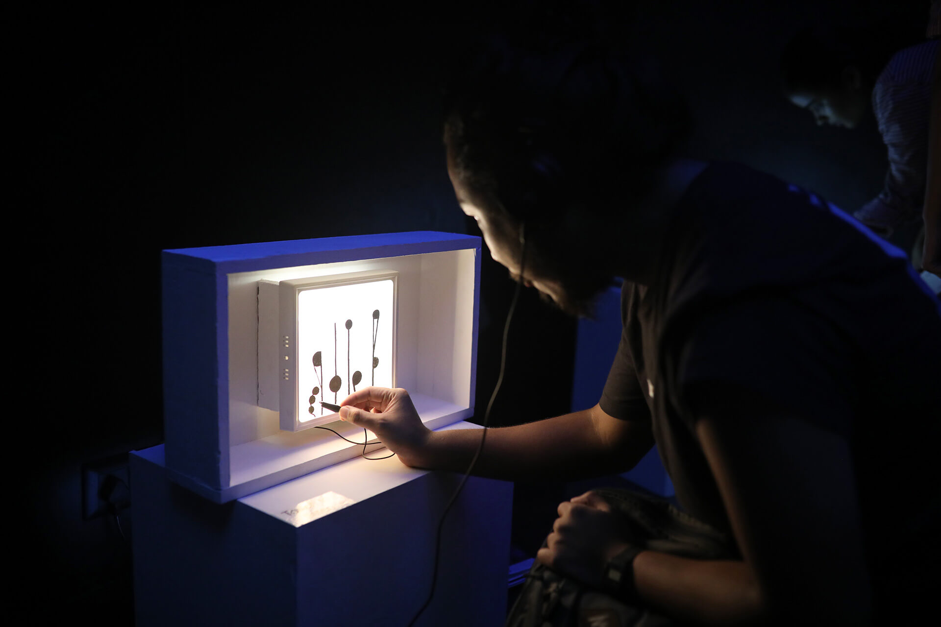Experiment converting touch into sound, supported by Serendipity Arts Foundation | Farah Mulla | STIRworld