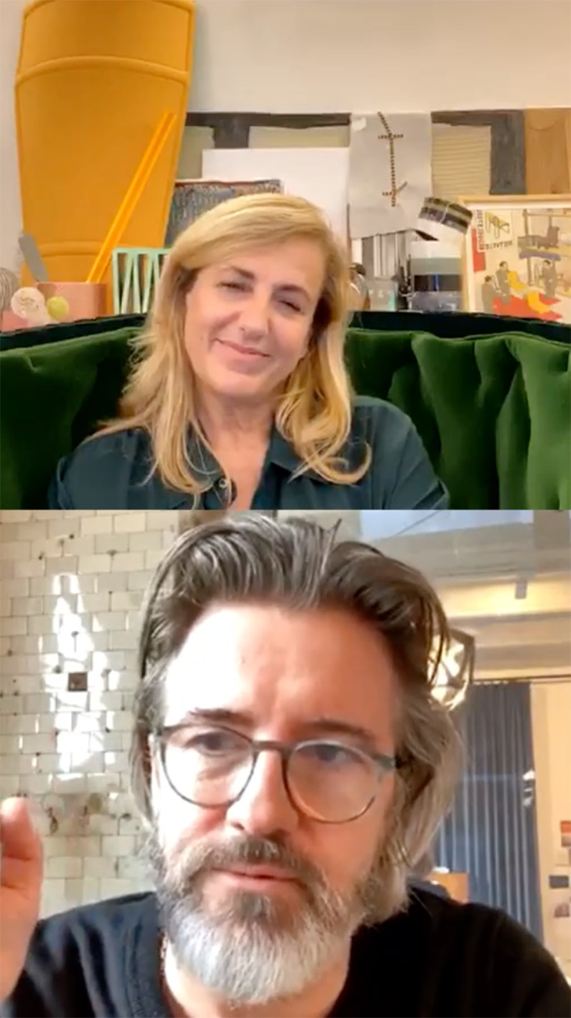 Cassina Out of the Box: Patricia Urquiola in conversation with Danish–Icelandic artist Olafur Eliasson | Cassina Out of the Box with Patricia Urquiola | STIRworld
