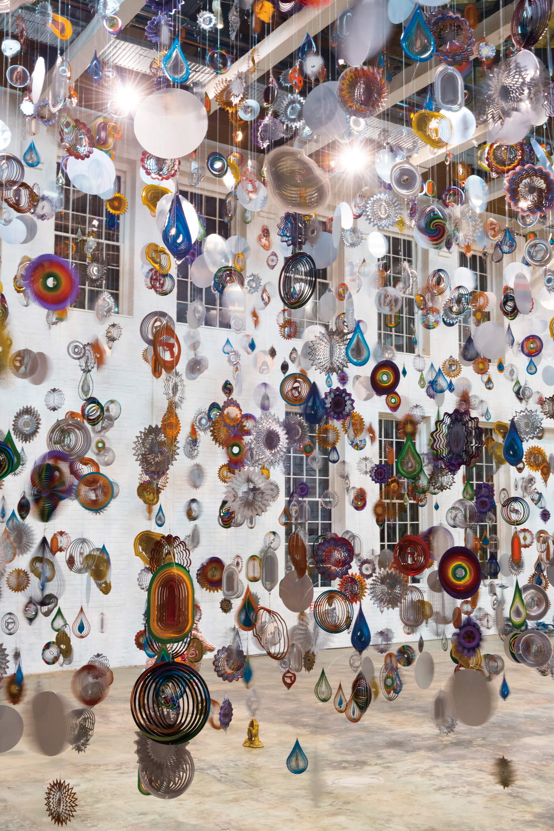 Kinetic Spinner Forest by Nick CAVE | Yokohama Triennale |  STIRworld