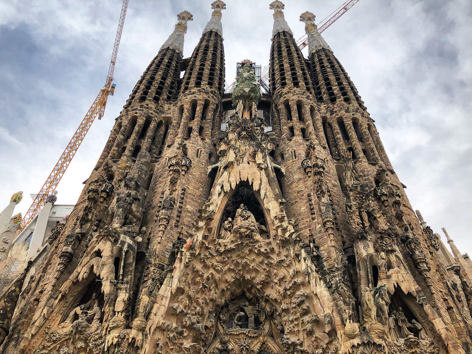 The architecture and its symbol-laden decoration | Sagrada Família | Barcelona | STIRworld