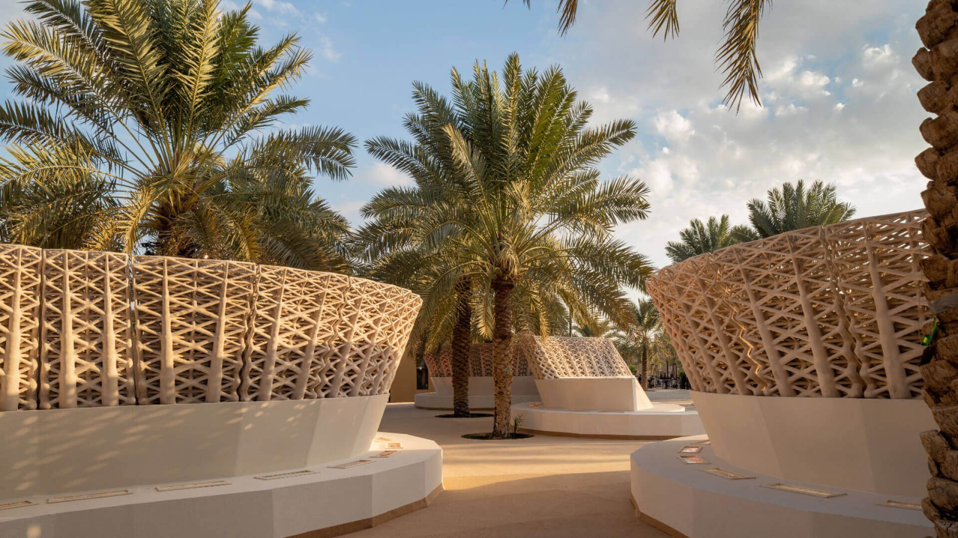 'Sandwaves' in Saudi Arabia designed by Arthur Mamou-Mani and Chris Precht as the largest 3D printed sand pavilion | Cross Border Conversations | STIR X LOCO Design | STIRworld