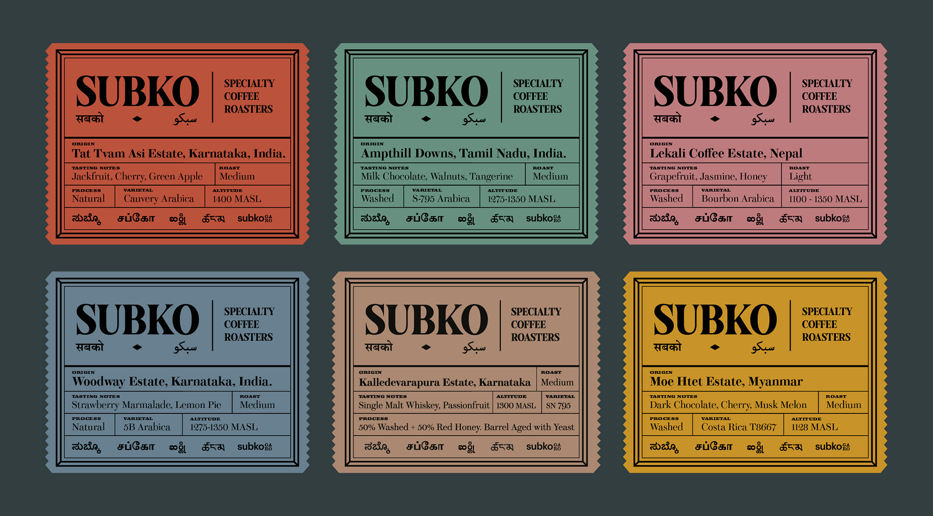 Fusing the contemporary and the vintage in SUBKO – a local specialty coffee brand | Cross Border Conversations | Aniruddh Mehta X Julius Wiedemann | STIR X LOCO Design