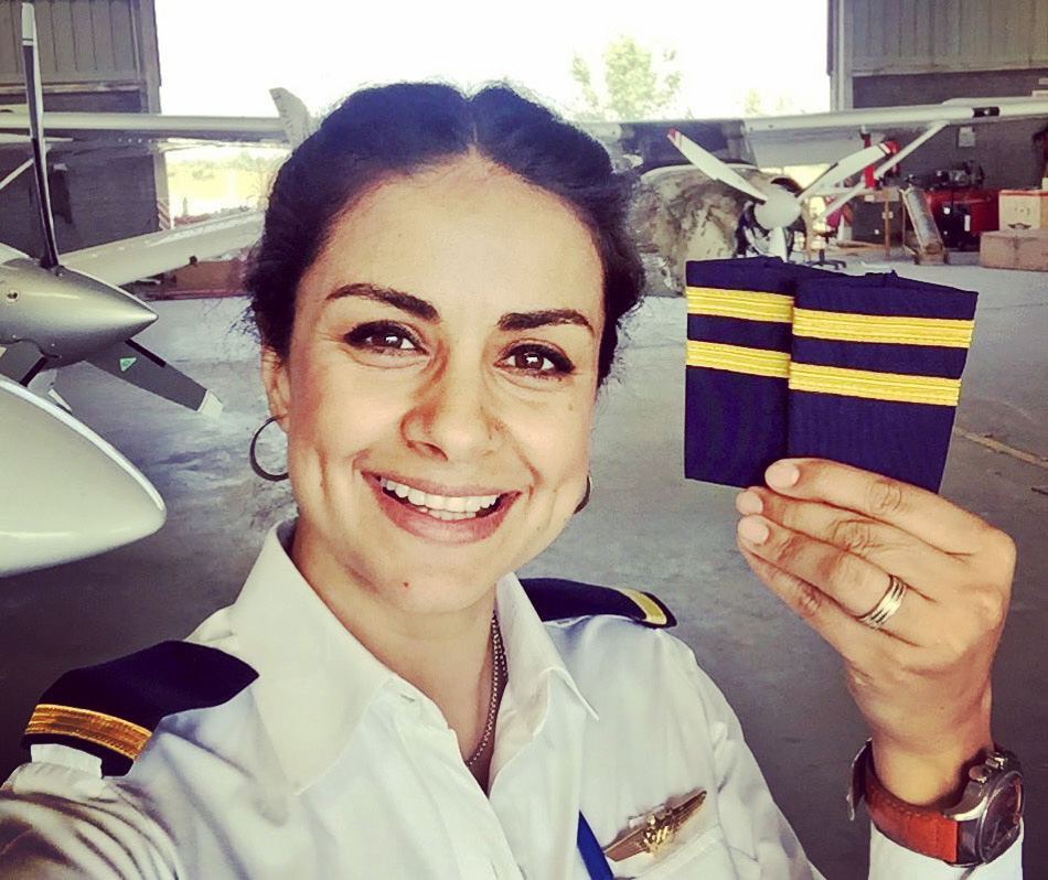 Gul Panag elated after her Commercial Pilot Check Ride | Cross Border Conversations | Frank Stephenson X Gul Panag | STIR X LOCO Design
